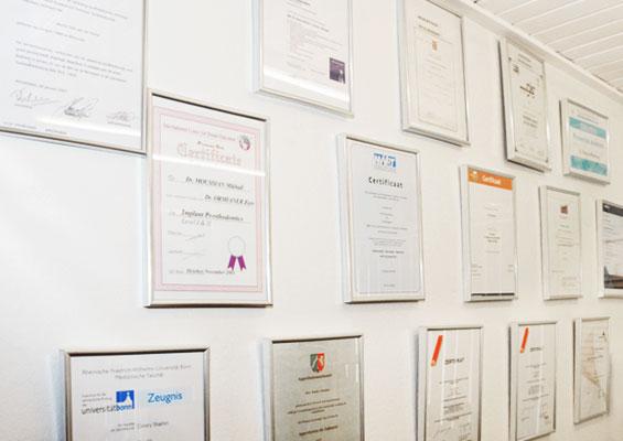 Cursussen-diplomas  tandartspraktijk WELKOM ARNHEM